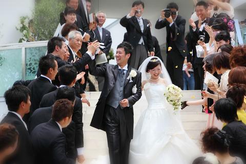 マックスとさえこPの結婚式
